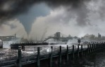 Tornado and Brooklyn Bridge